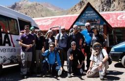 Equipe de janeiro de 2014 em Puente del Inca - Foto de Ashok Kipatri