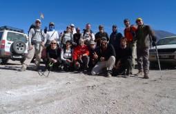 Nossa equipe a 4300m - Foto de Maximo Kausch