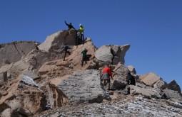 Nossa equipe aclimatando a 4500m - Foto de Emiliano Araujo