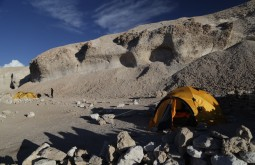 Nosso acampamento a 4500m - Foto de Emiliano Araujo