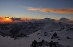 Pôr do Sol desde Nido de Condores - Foto de Vinícius Vieira