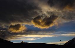 Pôr do sol desde o refúgio Atacama - Foto de Diego Coco Calabro
