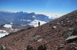 Pedro Hauck a 6300m - Foto de Maximo Kausch
