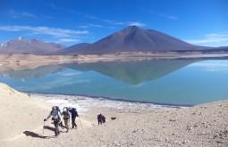 Saindo de Laguna Verde para escalar o Mulas Muertas - Foto de Alexandre Daniotti