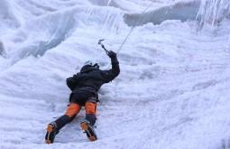 Escalando gelo a 5000m