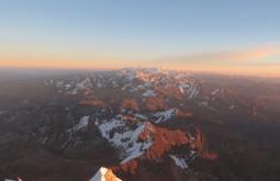 Vista ao norte desde o cume - Foto de Paula Kapp