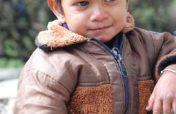 Menino em Jorsale, Nepal - Foto de Maximo Kausch