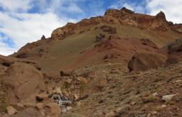 Rocky Ridge to north face