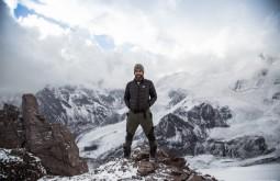 ACONCAGUA - Gabriel Tarso a 5050m apos nevasca - Foto Gabriel Tarso
