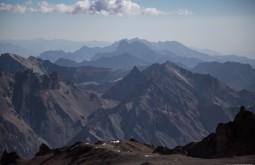 ACONCAGUA - Vista da provincia de San Juan desde 5500m - Foto Gabriel Tarso