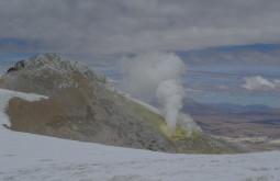 Chaminé vulcânica no Guallatiri