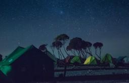 KILI - O acampamento Shira à noite 1 - Foto Gabriel Tarso