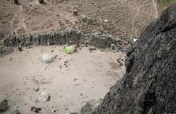 KILI - Vista do acampamento lava tower 3700m - Foto Gabriel Tarso