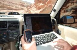Maximo navegando com seu GPS Garmin 64s em tempo real no Google Earth
