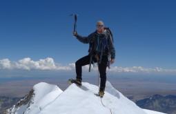 Maximo no cume do Chachacomani com 6078m