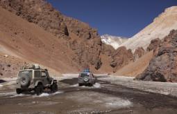 Muitos quilômetros sem estradas à caminho do Sierra Nevada - Foto Caio Vilela