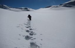 Neve funda no Chachacomani