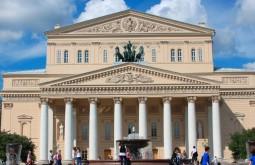 O teatro Bolshoi