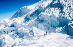 Base do glaciar