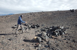 Mostrando Ruínas Incas a 4100m - Foto de Maximo Kausch