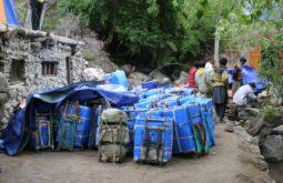 Organizando a carga em Askoli