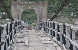Ponte pensil a caminho de Askoli