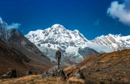 Vista para o Annapurna