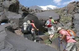 Caminho ao Acampamento base do Ararat