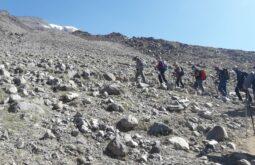 Ascensão ao Acampamento alto do Ararat